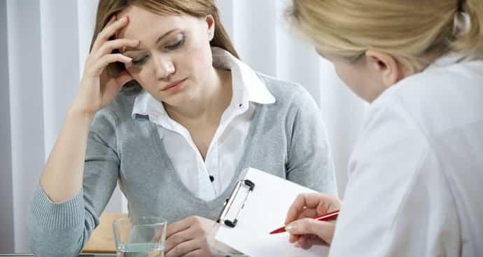 Консультация у врача при заикании