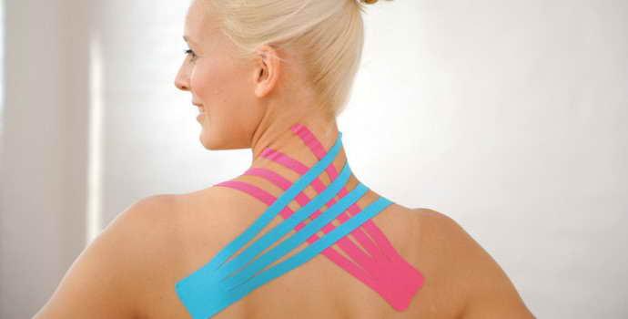 Тейпирование при остеохондрозе шейного отдела: как проводится