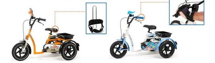 В чем отличие велосипеда для детей с дцп