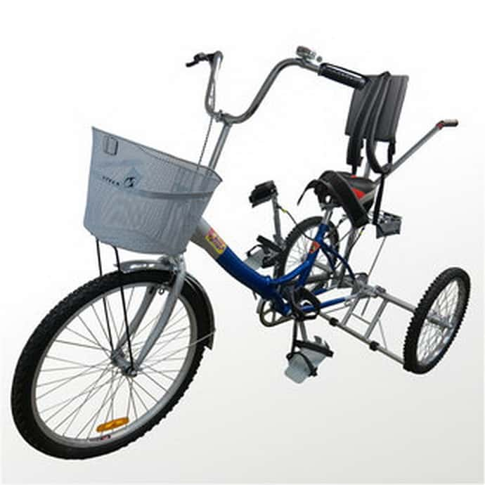 Чем полезен велосипед для детей с ДЦП