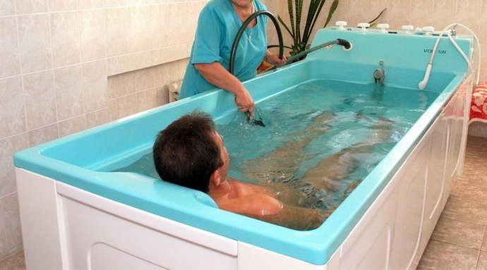 восстановление после геморрагического инсульта и лечебные ванны