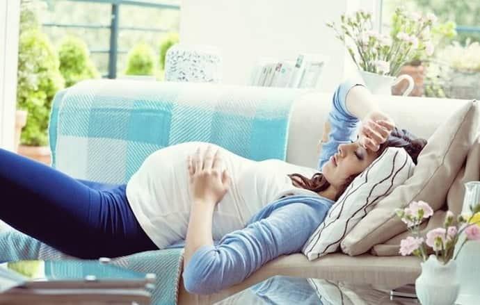 Как появляется всд при беременности